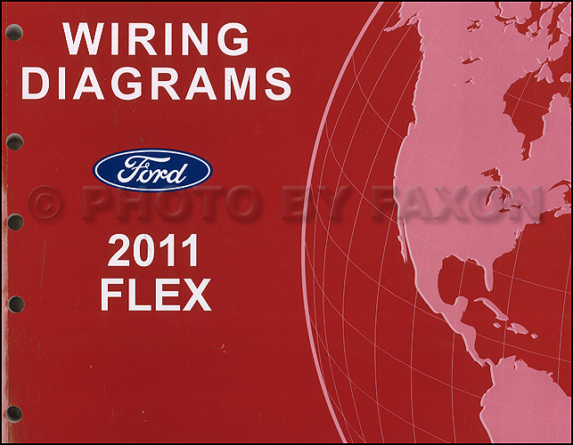 2011 ford flex wiring diagram manual original. Black Bedroom Furniture Sets. Home Design Ideas