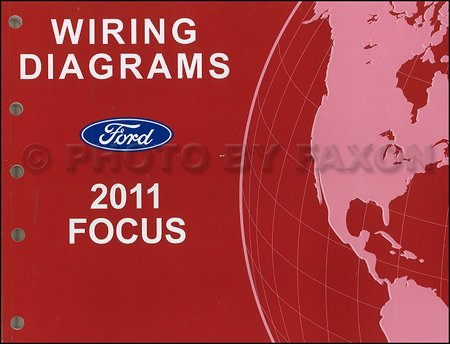 2011 ford focus wiring diagram manual original rh faxonautoliterature com Ford E-250 Wiring-Diagram Ford Truck Wiring Diagrams