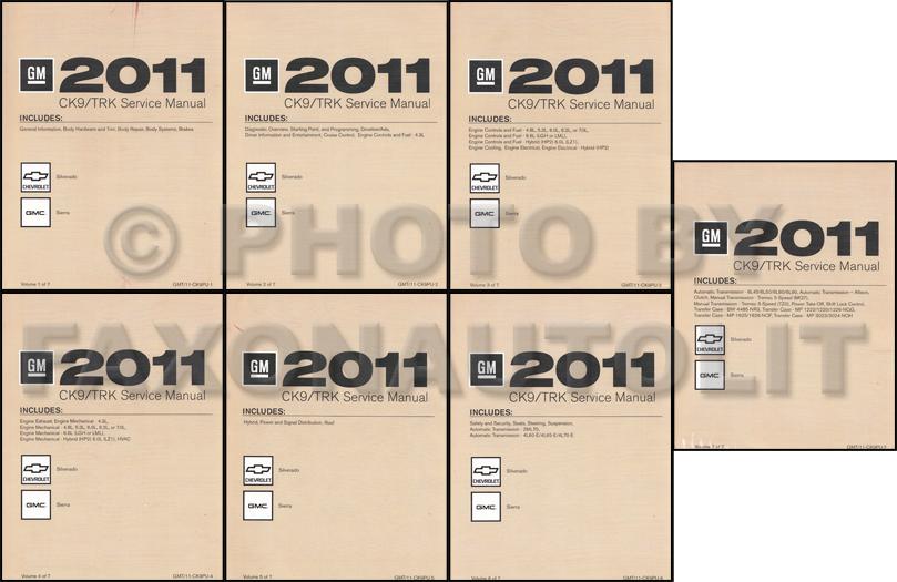 2011 silverado service manual
