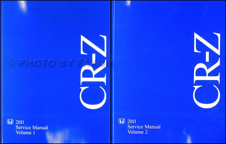 honda crz service manual