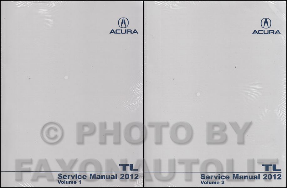 2004-2006 Acura TL Shop Manual Original