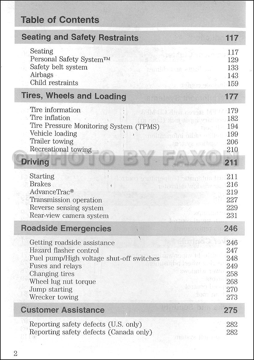 ford escape hybrid owners manual original
