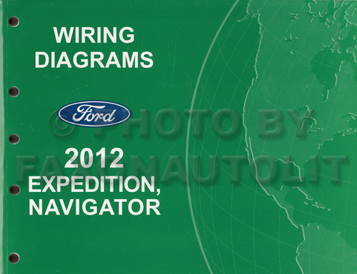 2012 Ford Expedition Lincoln Navigator Wiring Diagram Manual Originalrhfaxonautoliterature: Ford Expedition Wiring Diagram At Gmaili.net