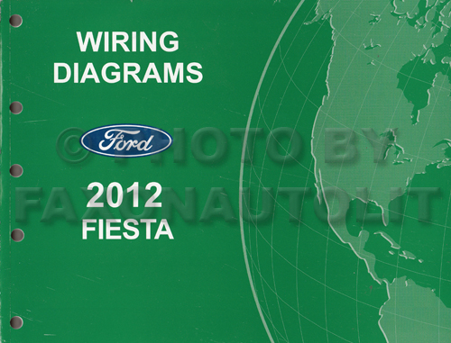 2012 Ford Fiesta Wiring Diagram Manual Originalrhfaxonautoliterature: 1993 Ford Festiva Wiring Diagram At Gmaili.net