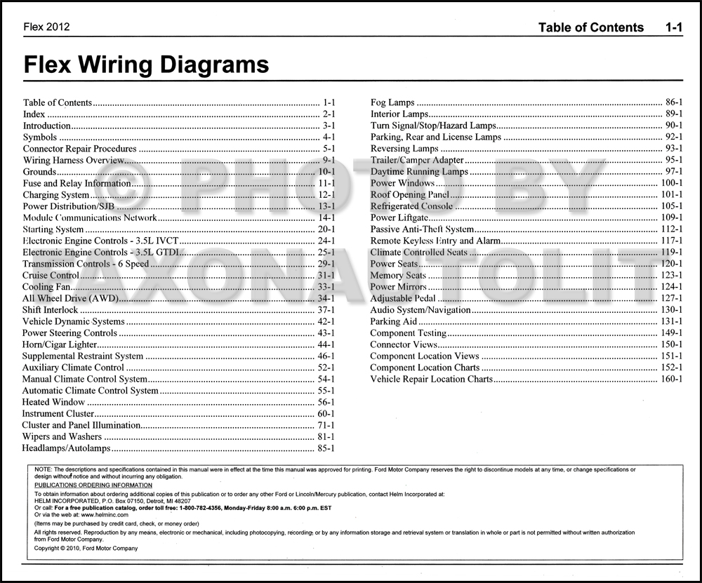 2011 Ford Flex Wiring Diagram : Ford flex sel wire diagram wiring images