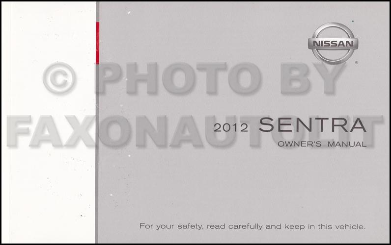 nissan sentra 2012 repair manual