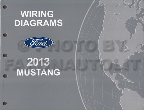 2013 ford mustang wiring diagram manual original. Black Bedroom Furniture Sets. Home Design Ideas