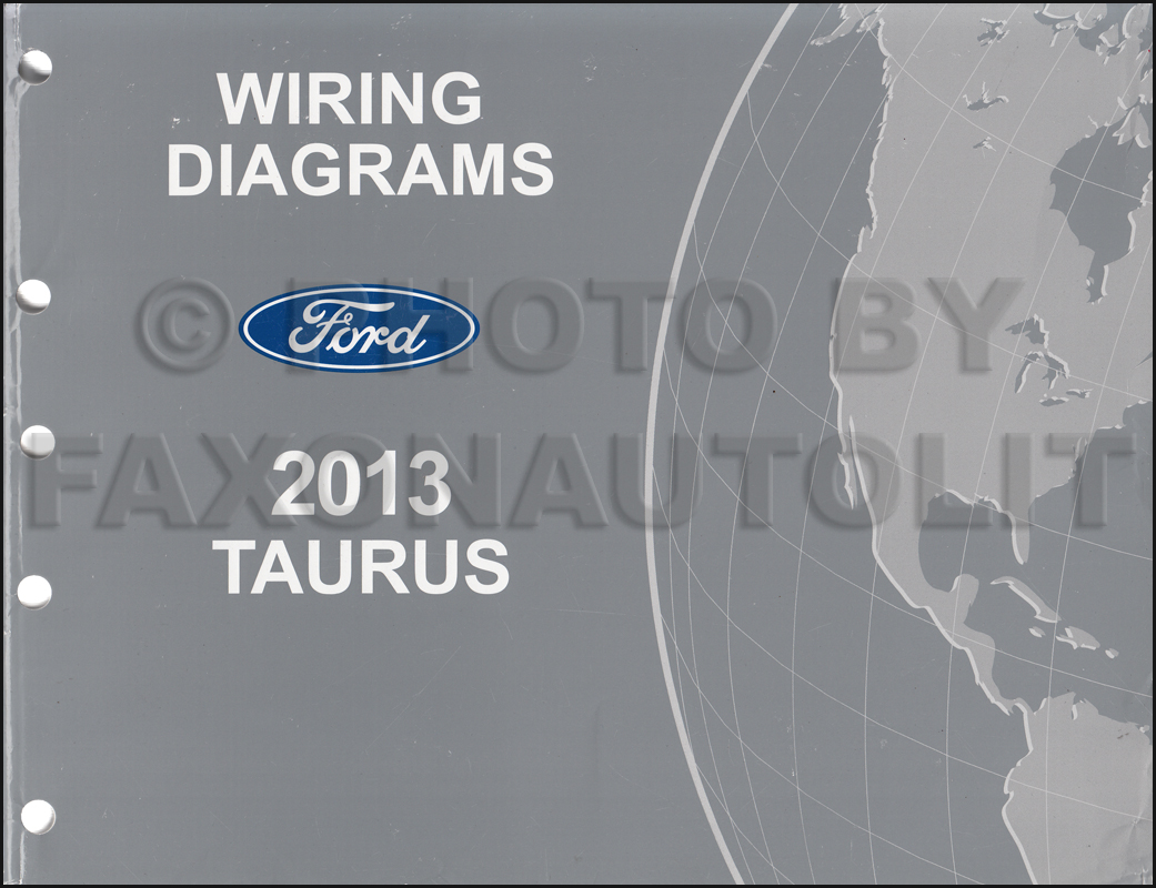 & 2013 Ford Taurus Wiring Diagram Manual Original jdmop.com