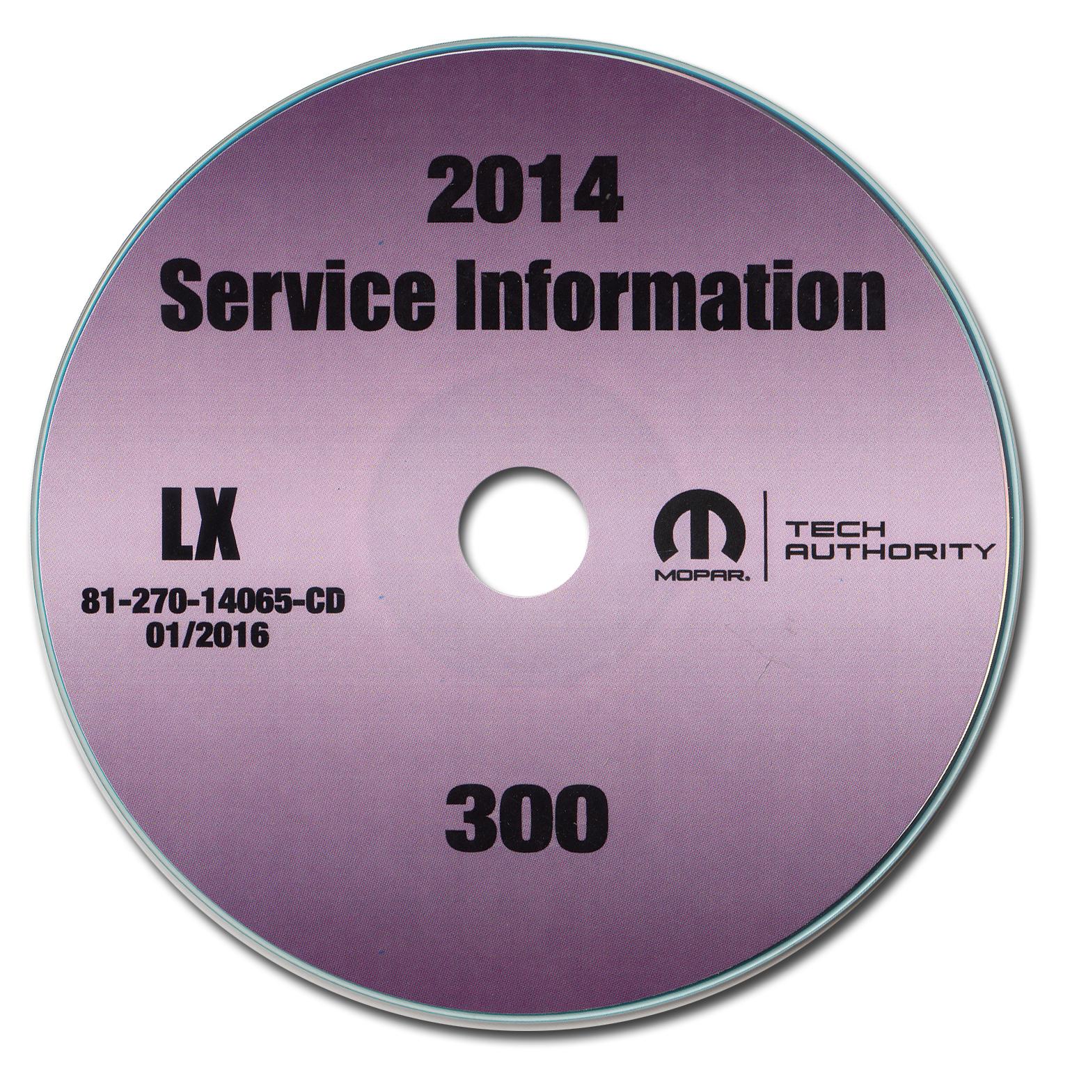2014 chrysler 300 service manual