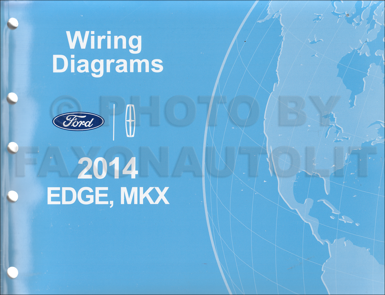 ford edge service manuals shop owner maintenance and repair 2014 ford edge lincoln mkx wiring diagram manual original