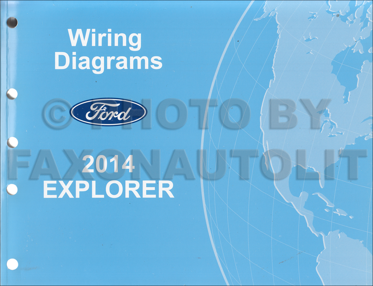 2014 Ford Explorer Wiring Diagram Manual Original