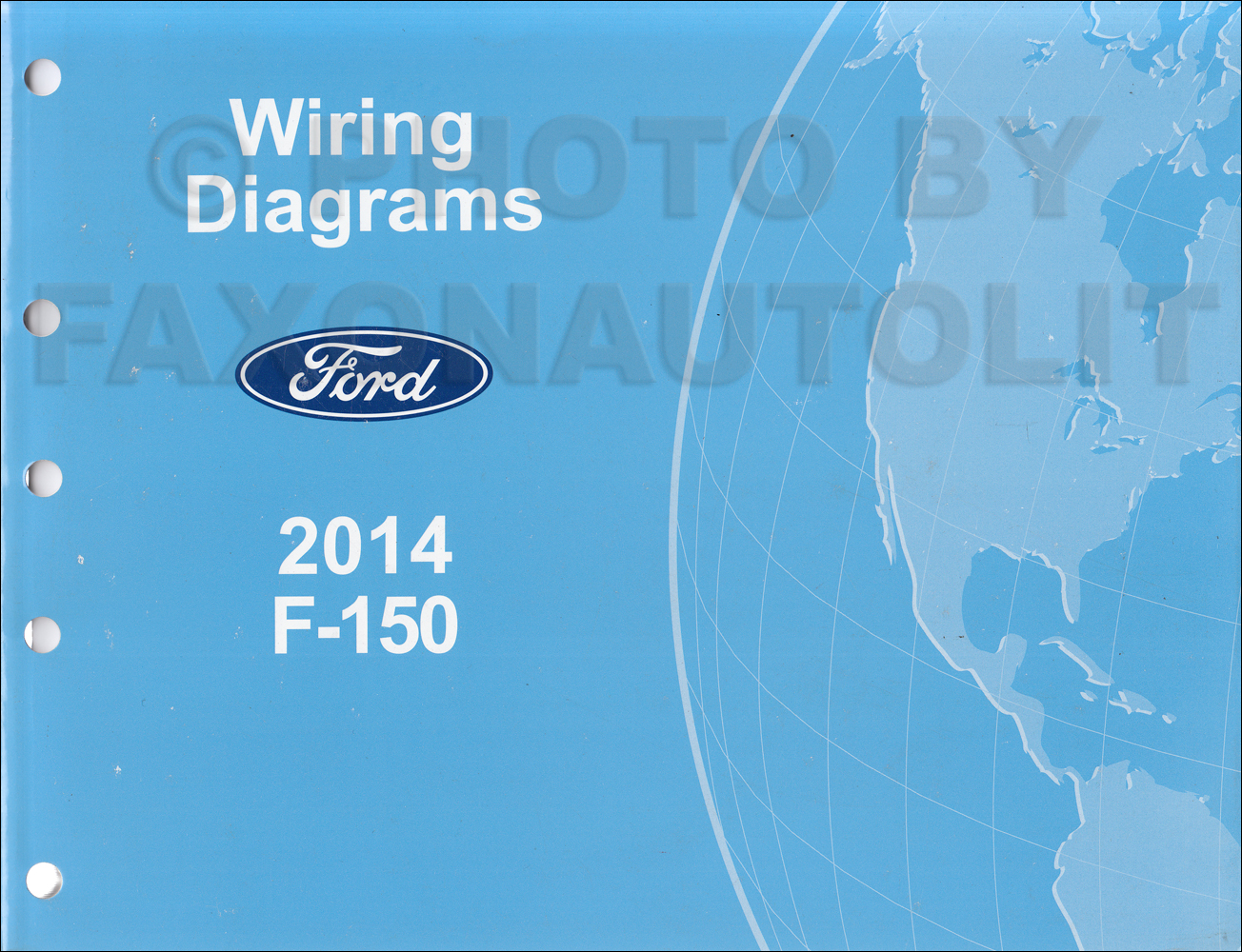 2014 Ford F 150 Wiring Diagram Manual Original Series