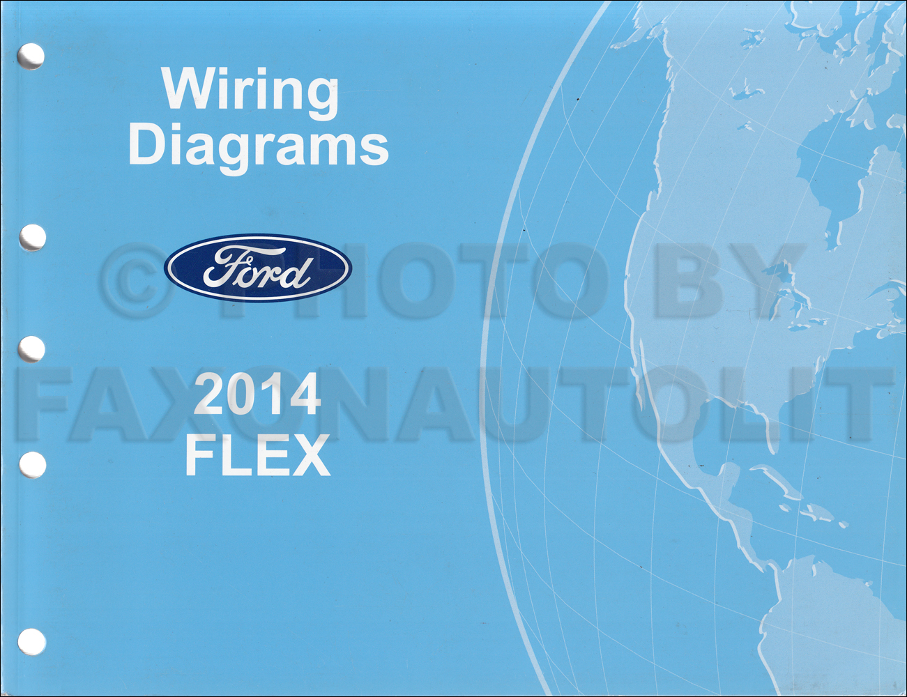 2014FordFlexOWD 2014 ford flex wiring diagram manual original ford flex wiring diagram at gsmportal.co