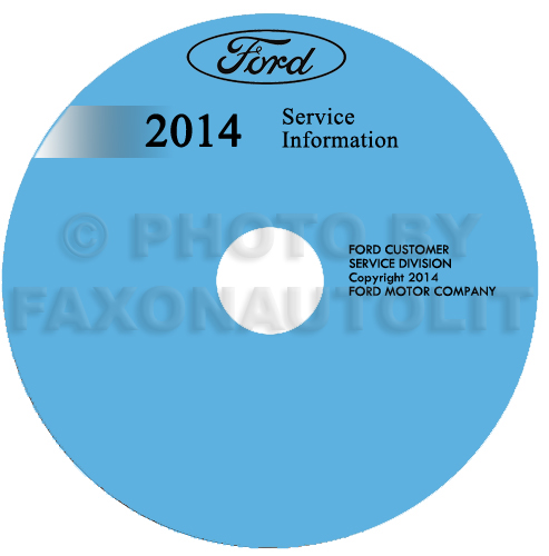 2014 Ford F53 Motorhome And F59 Repair Shop Manual On Cd