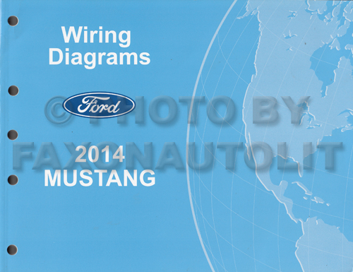 2014 ford mustang wiring diagram manual original rh faxonautoliterature com 2014 mustang gt wiring diagram 2014 mustang gt wiring diagram