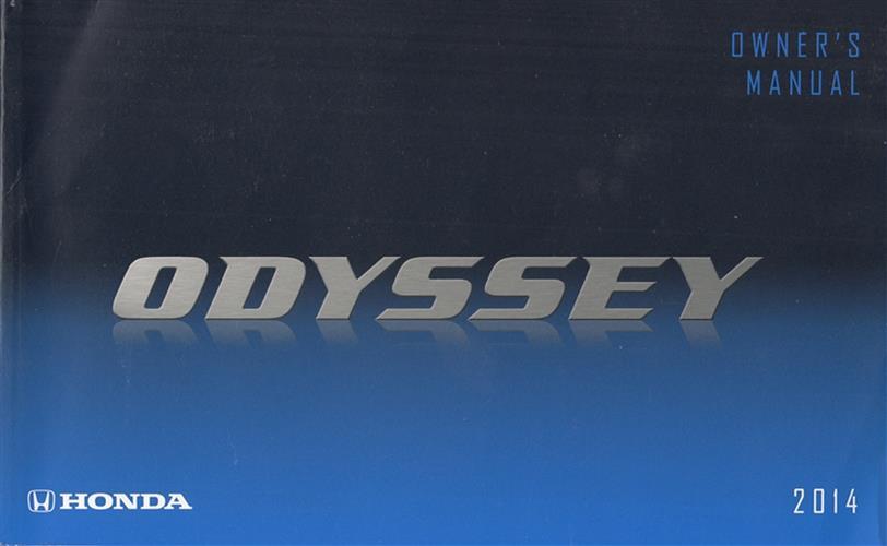 2014 honda odyssey repair manual