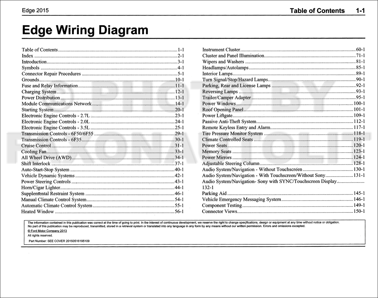2013 ford edge wiring schematic 2013 ford edge trailer wiring diagram #10