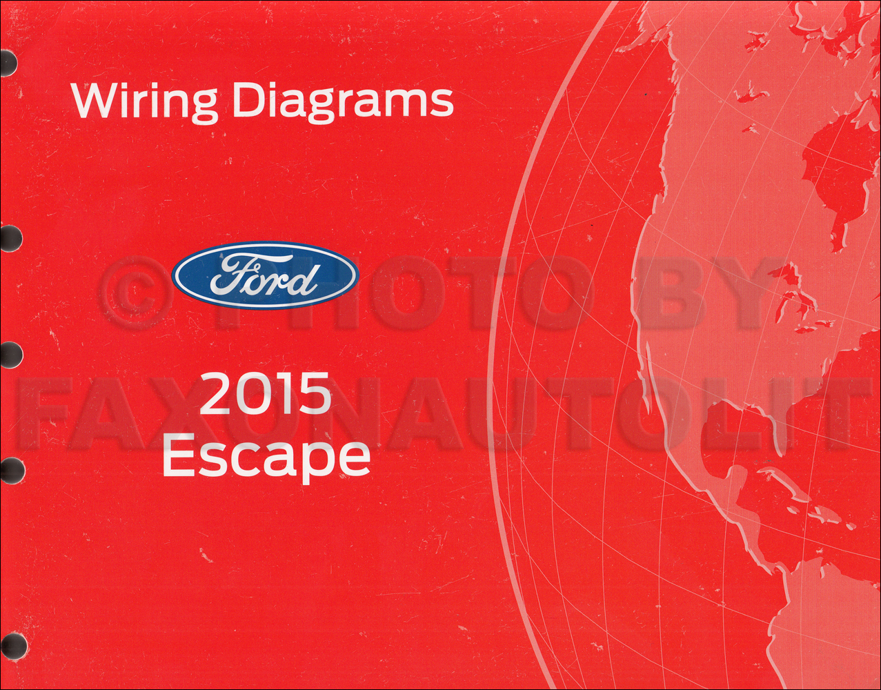 2015 Ford Escape Wiring Diagram Manual Original