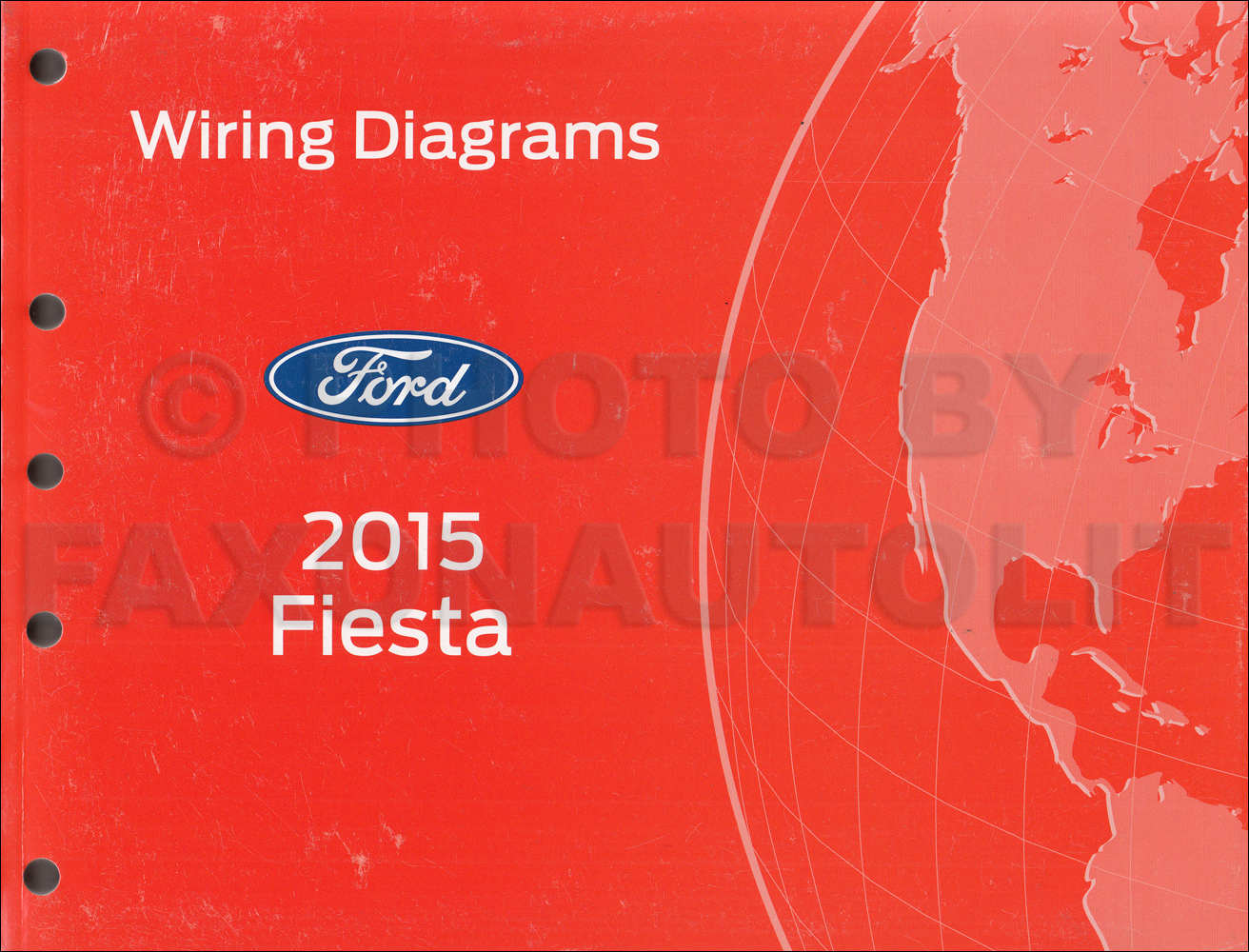 2014 Ford Fiesta Wiring Diagram Everything About 2013 Fuse Box 2015 Manual Original Rh Faxonautoliterature Com Engine Door Latch