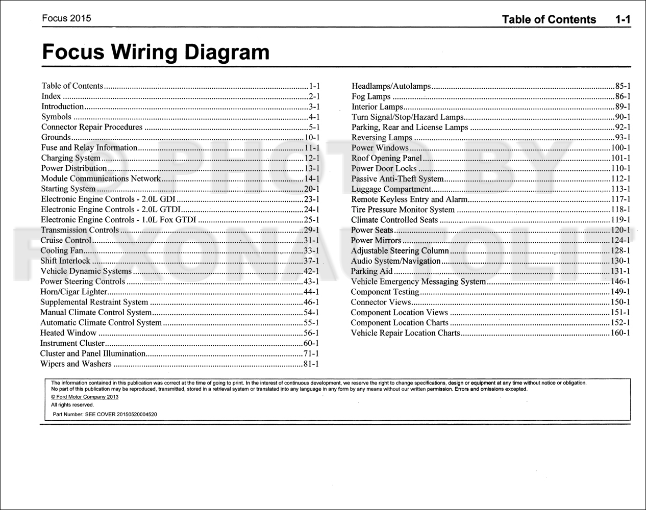 Fordfocusowd Toc on 1937 Ford Wiring Diagram