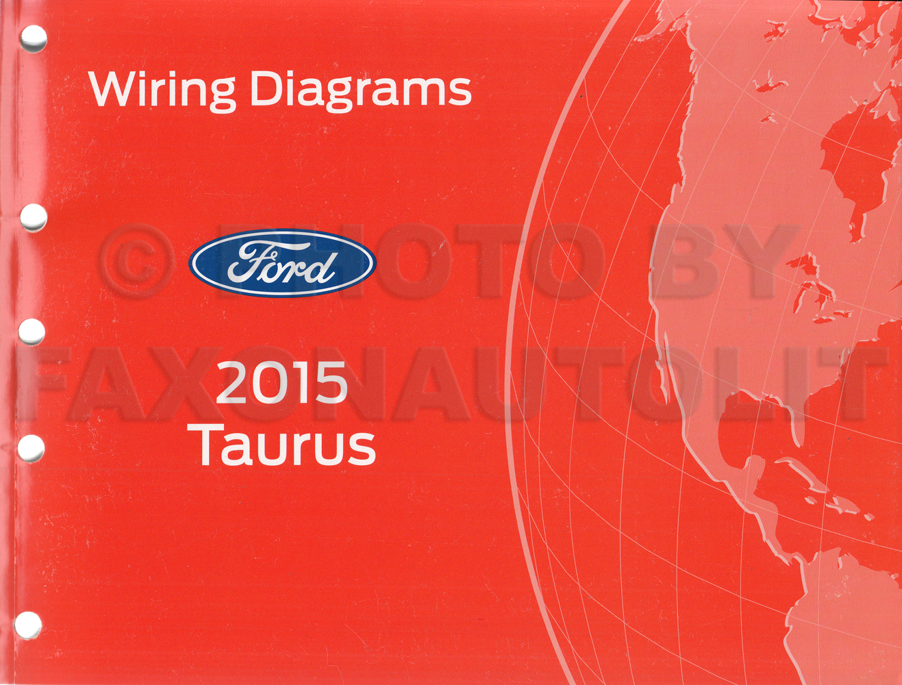 2015 ford taurus wiring diagram manual original rh faxonautoliterature com