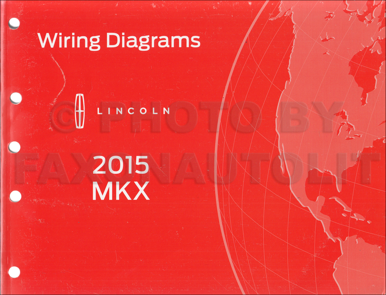 2015 Lincoln Mkx Wiring Diagram Manual Original