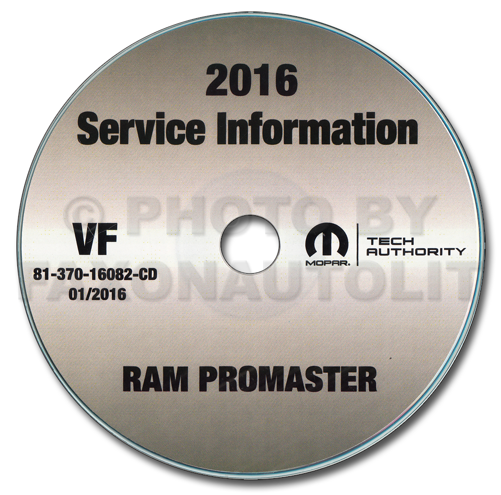 2016 ram promaster repair shop manual cd rom 1500 2500. Black Bedroom Furniture Sets. Home Design Ideas