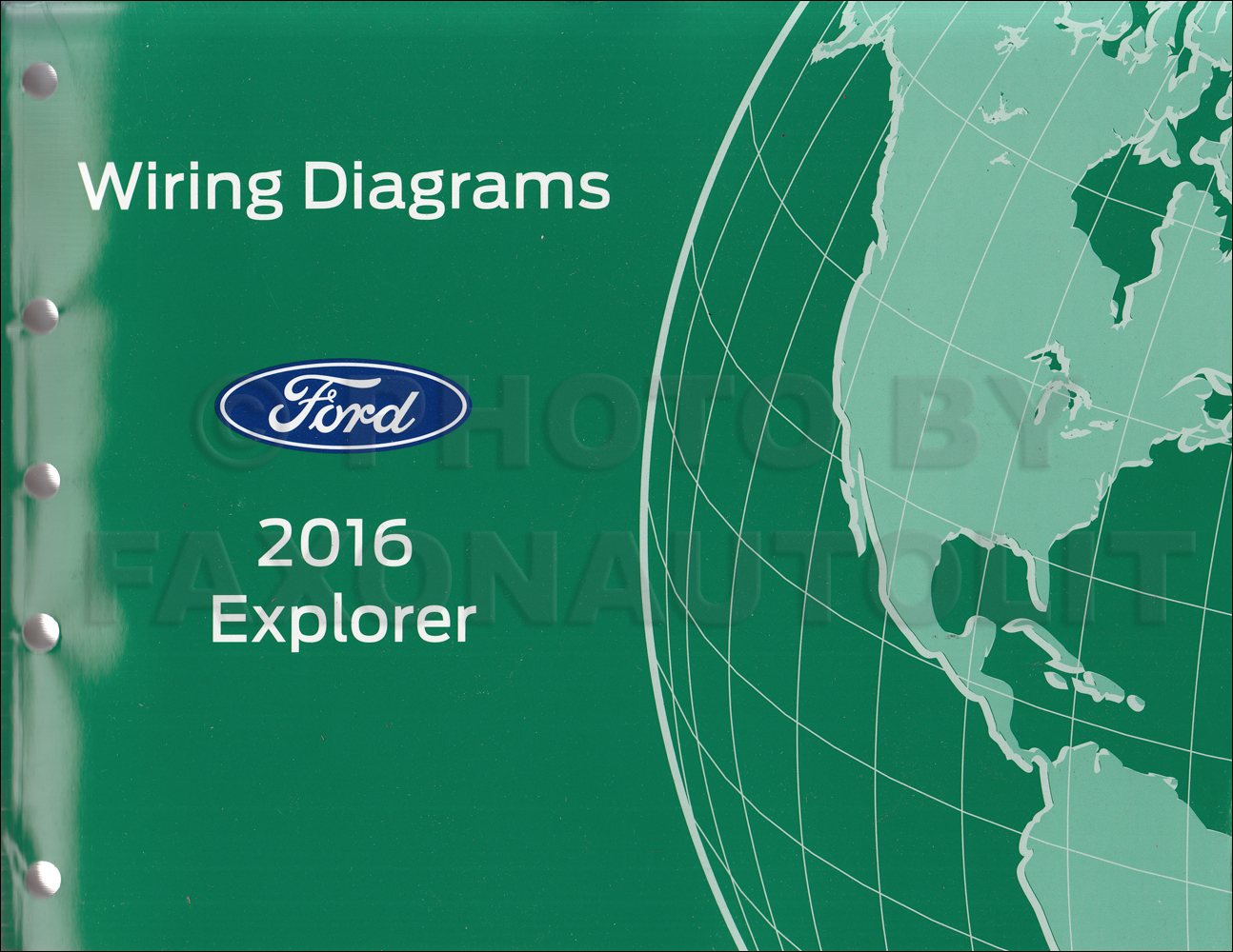 2016 ford explorer wiring diagram manual original rh faxonautoliterature com