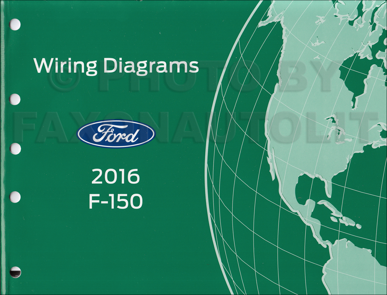 ford f 150 truck wiring diagram 2016 ford f-150 wiring diagram manual original