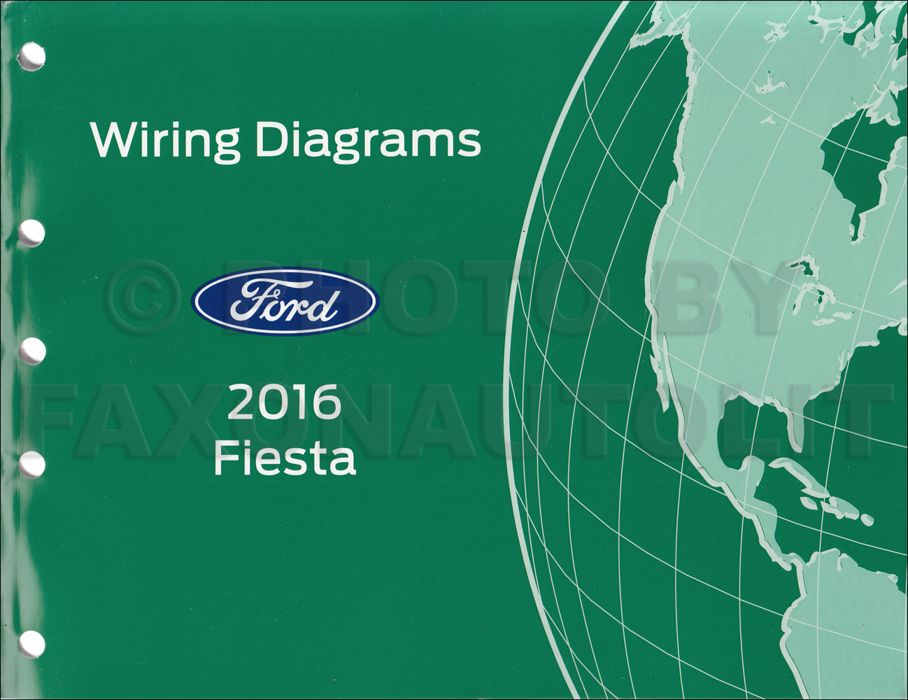 2016 Ford Fiesta Repair Shop Manual On Cd