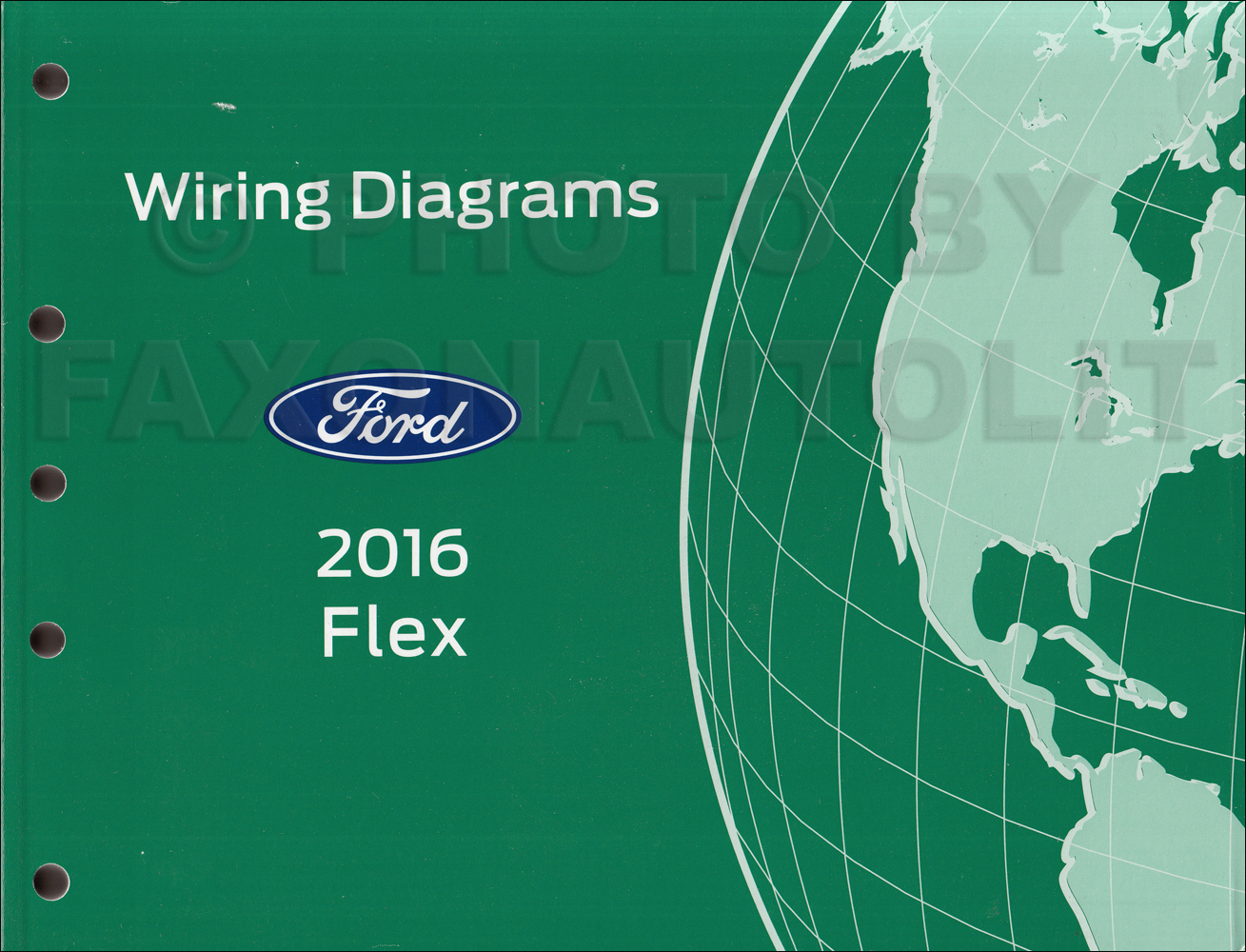 2016 Ford Flex Wiring Diagram Manual Original