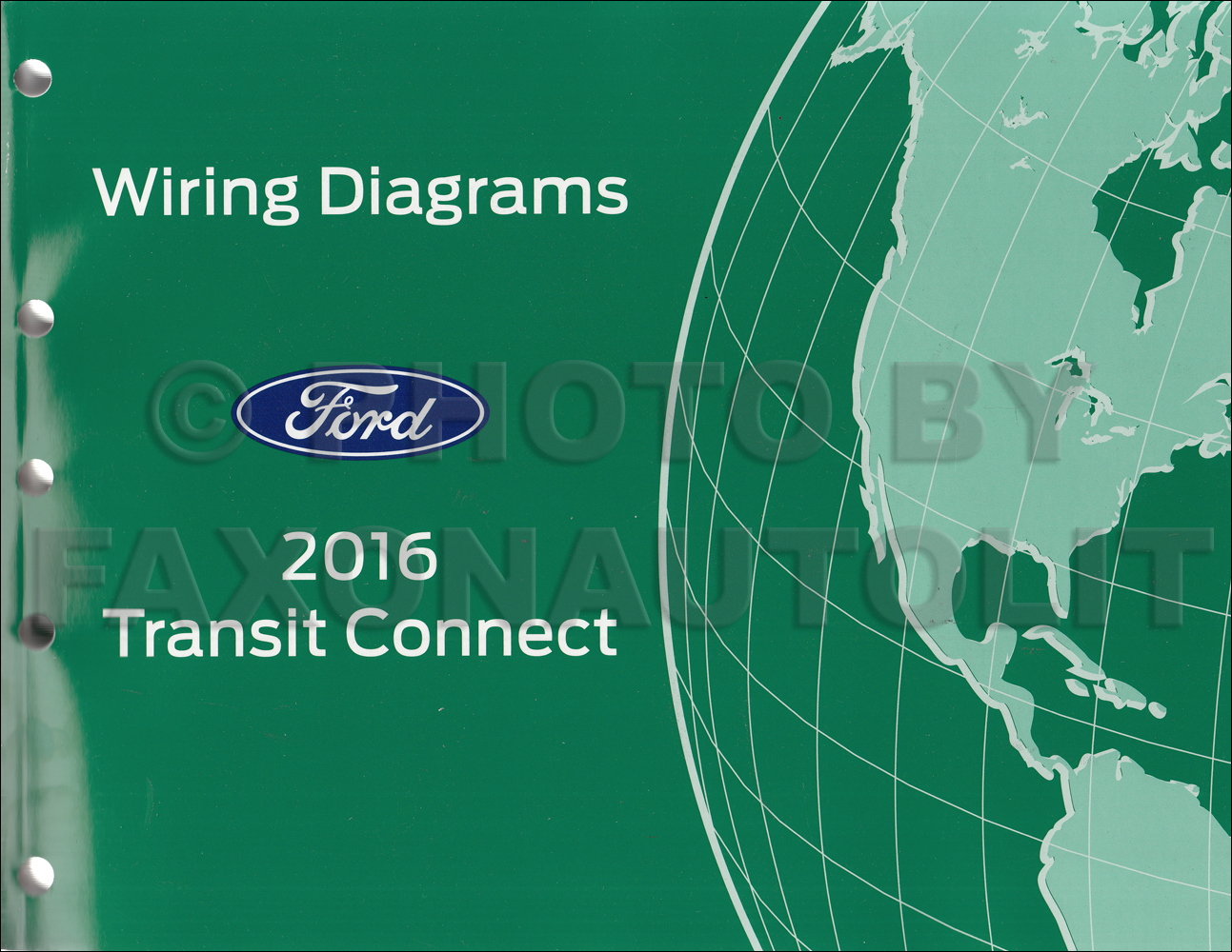 ford transit connect service manuals shop owner maintenance 2016 ford transit connect wiring diagram manual original