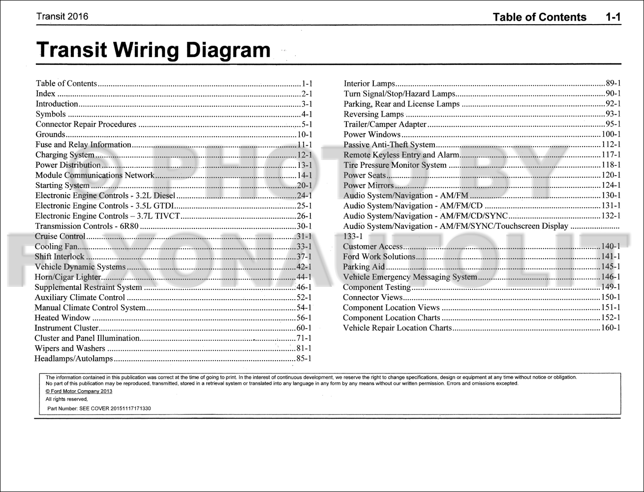 2016FordTransitOWD TOC 2016 ford transit wiring diagram manual original ford transit wiring diagram at gsmx.co
