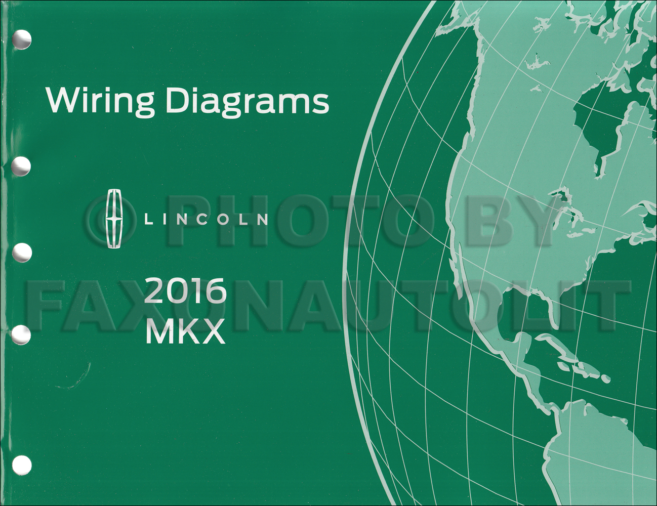 2016 lincoln mkx wiring diagram manual original rh faxonautoliterature com 2010 lincoln mkx wiring diagram 2004 Lincoln Navigator Wiring-Diagram