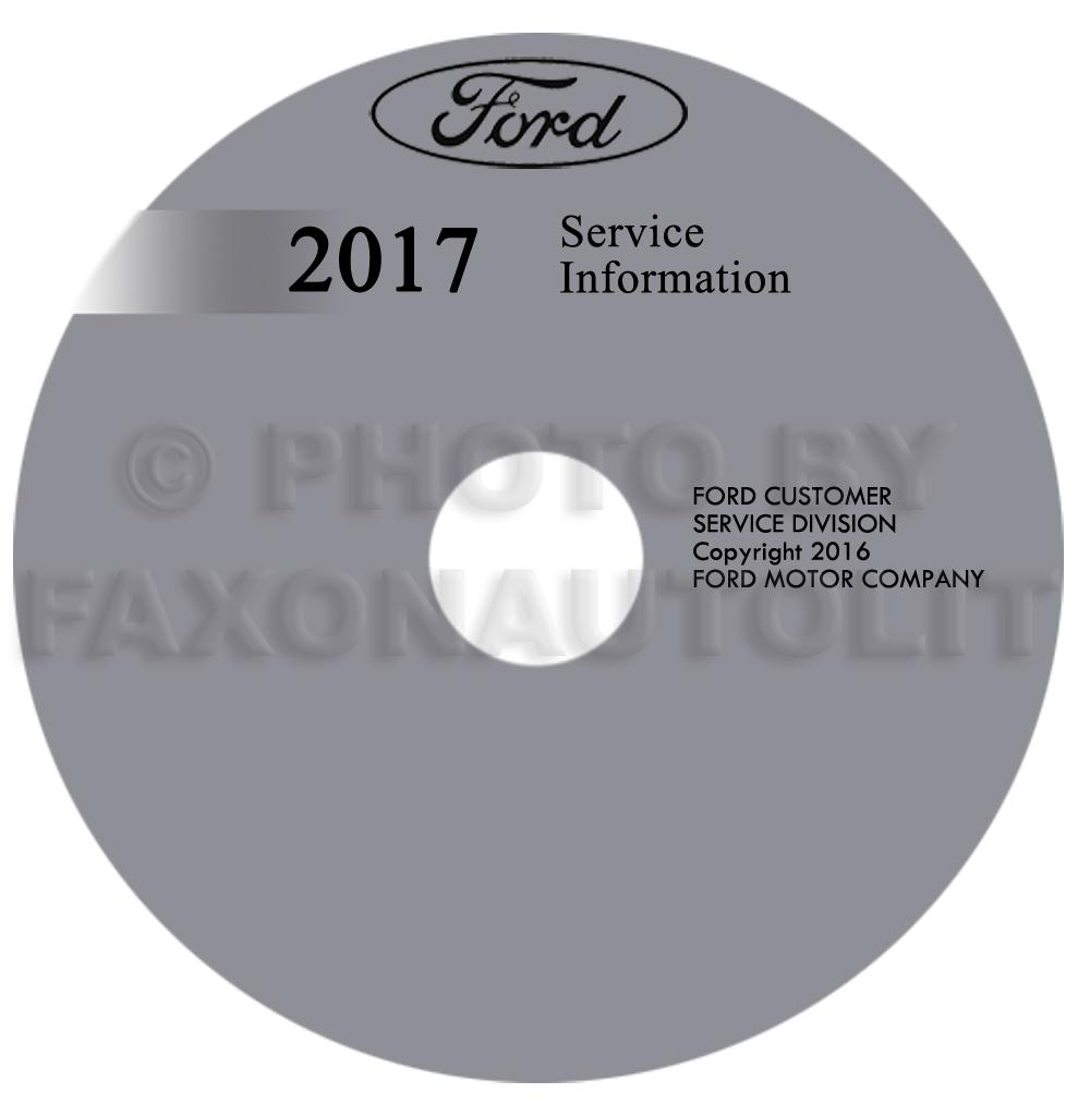 2017 ford f53 motorhome repair shop manual on cd rom original