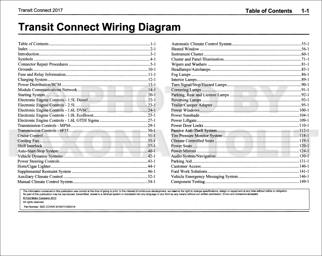 2012 ford transit fuse box diagram 2012 ford transit connect wiring diagram manual original ... 2012 ford transit connect wiring diagram #12