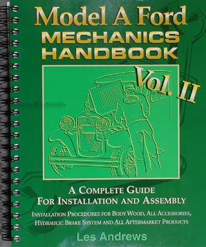 1928-1931 Ford Model A Mechanic's Handbook Vol. 2