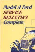 1928-1931 Model A Ford Service Bulletins Repair Shop Manual Reprint Hardcover
