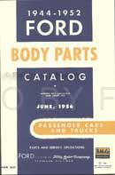 1944-1952 Ford Car & Truck Reprint Body Parts Catalog