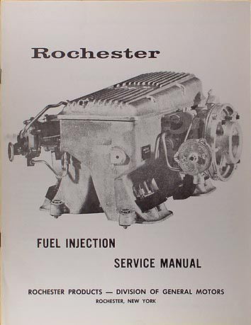 1963 1965 Chevy Corvette Rochester Fuel Injection Service