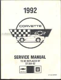 1996 Chevrolet Corvette Repair Manual Original 2 Volume Set