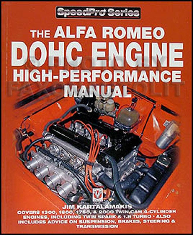 alfa romeo dohc engine high performance manual