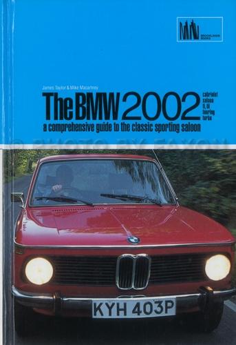 1966-1976 BMW 1502 1602 1802 2002 Repair Shop Manual Original