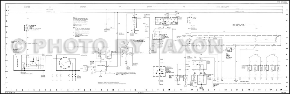 1979 Bmw 733i Wiring Diagram Original Download