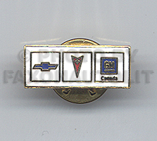 Chevrolet/Pontiac/GM Canada Dealer Pin