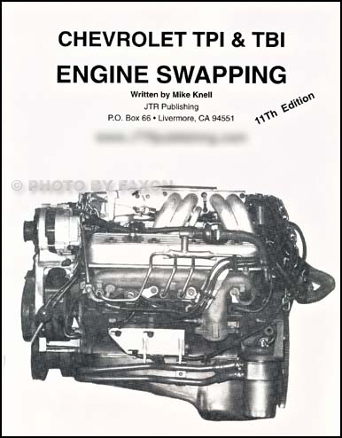 Chevy TPI & TBI Engine Swapping; install 80s & newer fuel-injected V8s into older vehicles