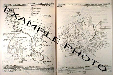 1964 Chevy Impala Assembly Manual - Wiring Diagram •