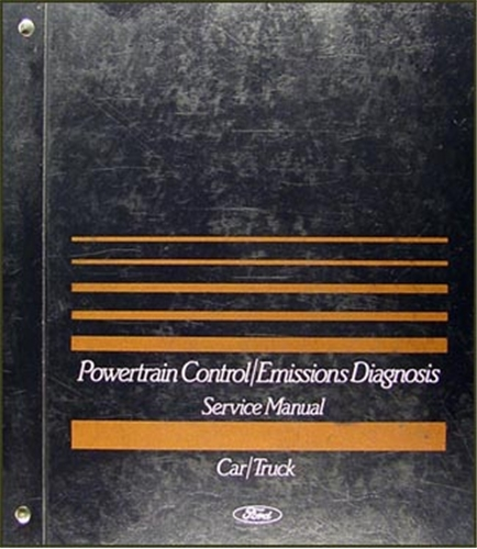 1999 Ford Engine/Emissions Diagnosis Manual Original