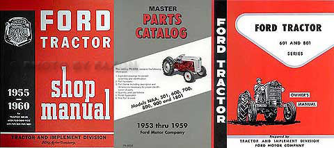 1957 1960 ford 671 681 871 881 manual brochure set reprint 1957 1960 ford 601 801 tractor 3 manual set reprint