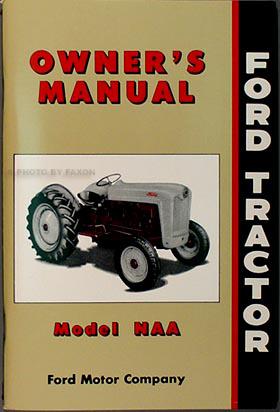 1953 1955 ford naa golden jubilee tractor repair shop manual reprint. Black Bedroom Furniture Sets. Home Design Ideas